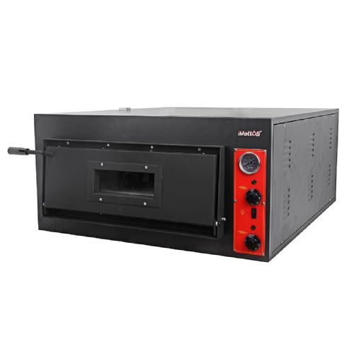 Pizza Oven Single Deck Chamber Size 910(W) x 140(H) x 610(D) mm - PO-6